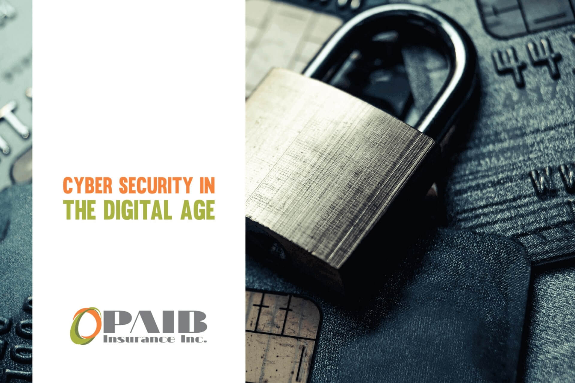 Cyber Security in the Digital Age - PAIB Insurance