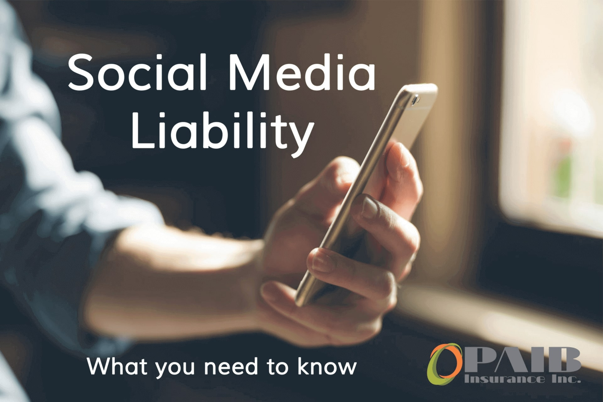 Social Media Liability - PAIB Insurance